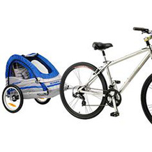 Bike with Child Trailers